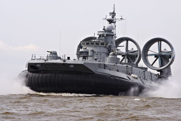 Military hovercraft - website