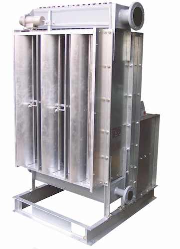 Vertical Steam Condenser-cut-out