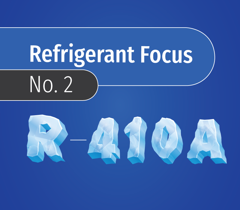 Refrigerant focus R-410A
